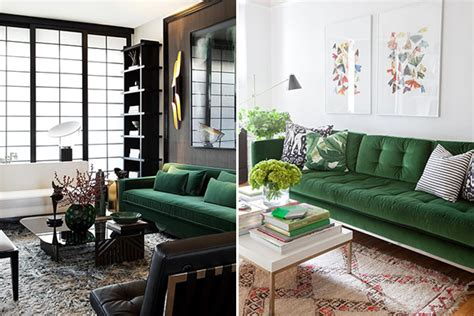 sofa rustika verde 15 salas sof 225 verde para te inspirar