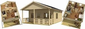 Wohnen Mit Holz : skizze gartenhaus mit schlafboden alle informationen zum wohnen im garten in diesem online ~ Orissabook.com Haus und Dekorationen