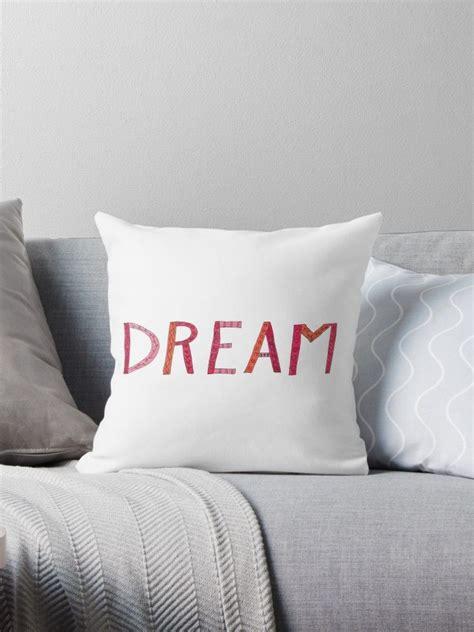DREAM handletters pink orange doodles by Kitty van den ...
