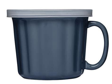 Formahouse   Sagaform: Soup mug with lid, blue