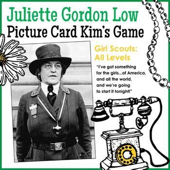 juliette daisy gordon  picture card kims game girl