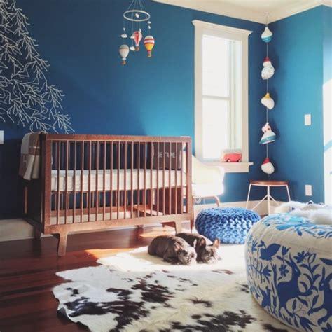 habitaciones de bebe de color azul decoideasnet
