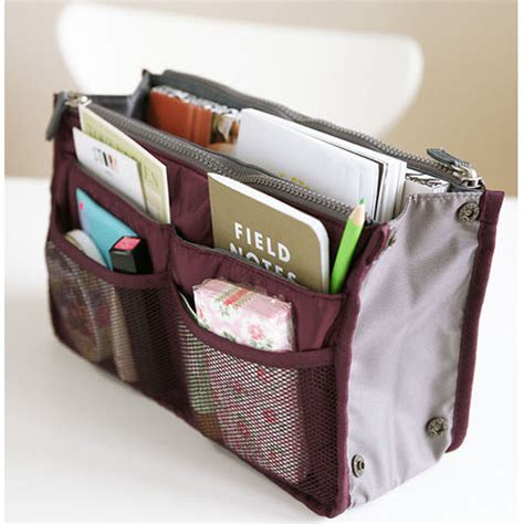Handbag Bag Organizer Inner Bag Makeup Purse Pouch