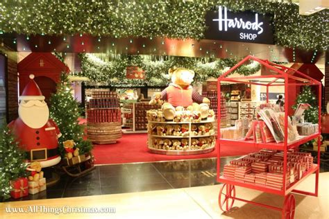 christmas decorations in wandswarth shopping centre london inside harrods world 183 all things