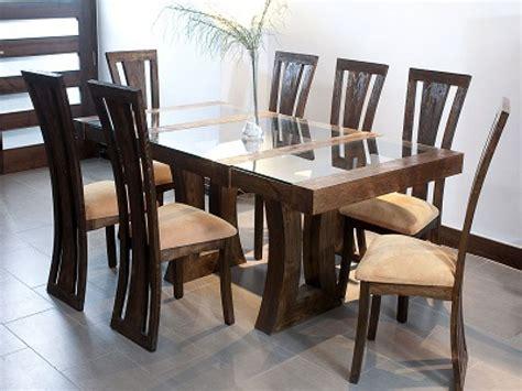 mesa de comedor de madera modelo brazalete movi