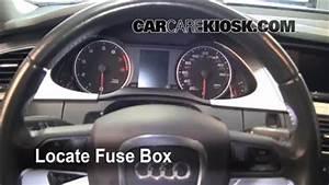 Audi A5 2009 Fuse Box : interior fuse box location 2009 2014 audi a4 quattro ~ A.2002-acura-tl-radio.info Haus und Dekorationen