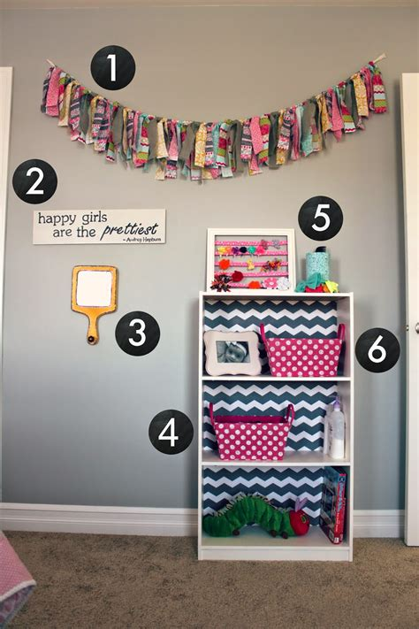 All Things Diy Room Reveal  Girl's Bedroom On A Budget