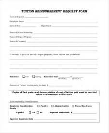 Tuition Reimbursement Request Form