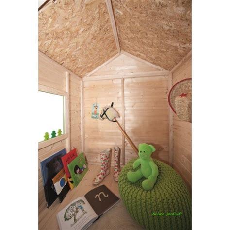 maisonnette en bois pour enfants kangourou chalet pas cher