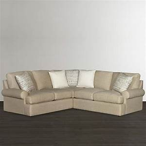 L Sofa : casual tan l shaped sectional bassett home furnishings ~ Buech-reservation.com Haus und Dekorationen