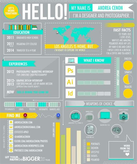 Infographic Resume Service by Infographic Resume Design Resume Tips