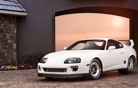 wallpaper toyota supra drag king trd jz big power