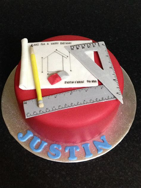 Architecture Decoration by Architect Cake Theme For A Architect Anniversary Cakes