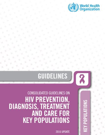 Consolidated Guidelines On Hiv Prevention Diagnosis