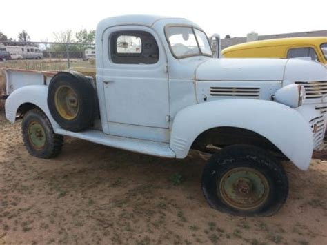 Buy Used 1940 Dodge Power Wagon 4x4 Truck In Victorville
