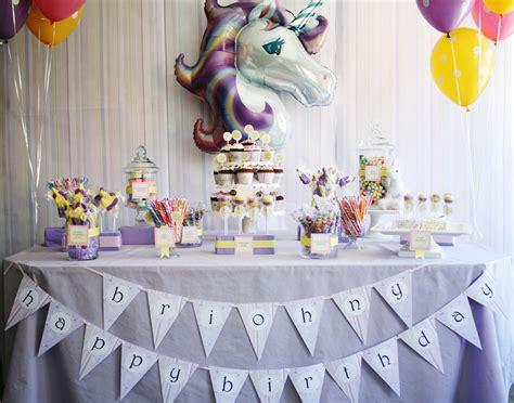 magical unicorn birthday party birthday party invitation parlour