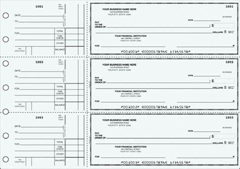Business Size Checks - Print Business Checks Online