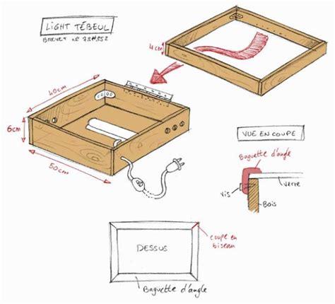 petit bureau pc fabriquer votre table lumineuse