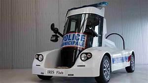 Nouvelle Voiture De Police : la police municipale dispose d 39 une nouvelle voiture futuriste et lectrique ~ Medecine-chirurgie-esthetiques.com Avis de Voitures