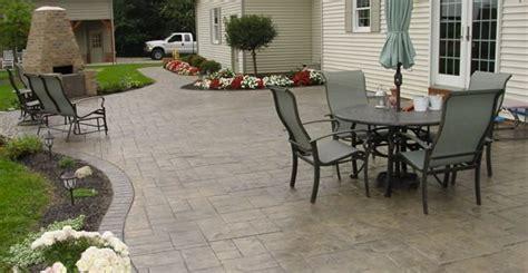 back yard concrete patio design ideas 2017 2018 best