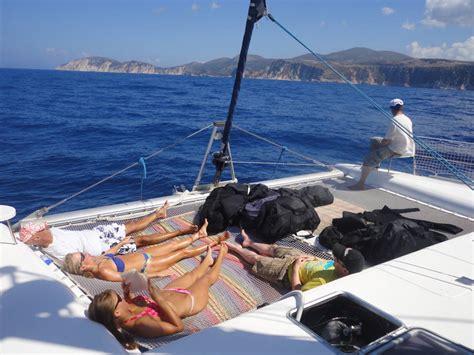 Catamaran Dive Boats by Catamaran Liveaboard Scuba Dive Yacht Scuba Diving In Greece