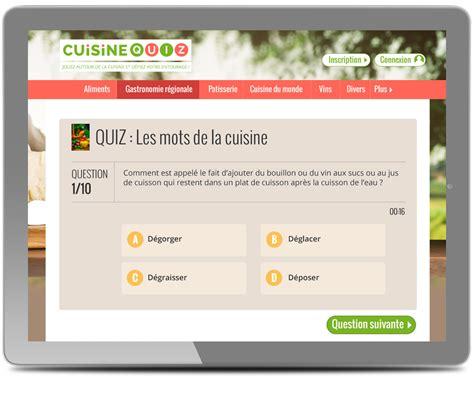 cuisine quiz webdesigner pour le site cuisine quiz