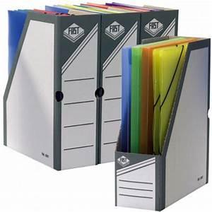 Porte Revue Carton Gris Dos Large 10 Cm