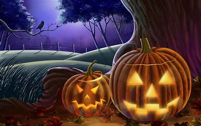 Halloween Wallpapers Desktop Background Happy Backgrounds Theme