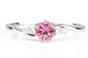 pink engagement ring photo of the day pink sapphire ring