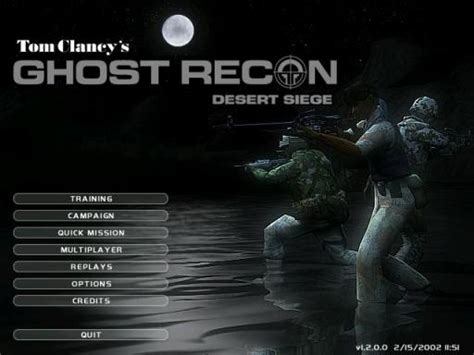 ghost recon desert siege ghost recon desert siege review