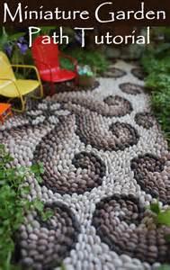 Mini Gnome Garden by How To Make A Miniature Garden Path Beneath The Ferns