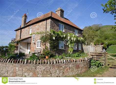 Englisches Landwirtschaftliches Haus Und Garten Mit