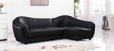 canape en cuir noir canapé d 39 angle 4 places a prix cassé en cuir