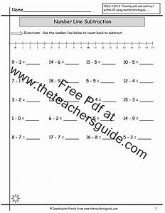 Number Lines To 20 Worksheet