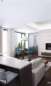 sleek modern apartment | Interior Design Ideas