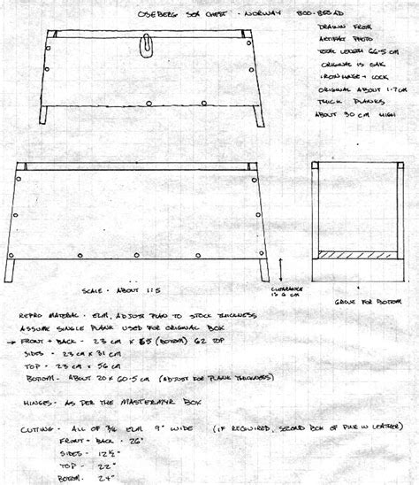viking chest plans  woodworking
