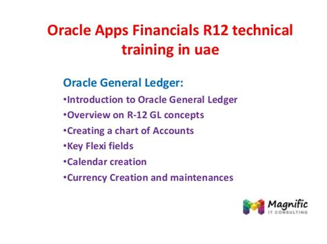 oracle apps financials r12 technical in uae