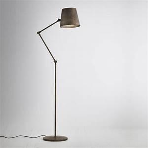 Lampe Haute Sur Pied : lampe haute sur pied lampe rouge lasablonnaise ~ Teatrodelosmanantiales.com Idées de Décoration