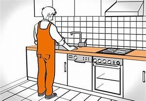 Kuchenarbeitsplatte mit obi einbauen oder tauschen for Arbeitsplatte küche einbauen