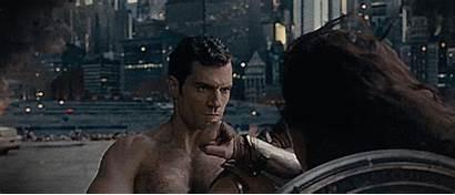 Justice League Superman Wonder Woman Movie Fight