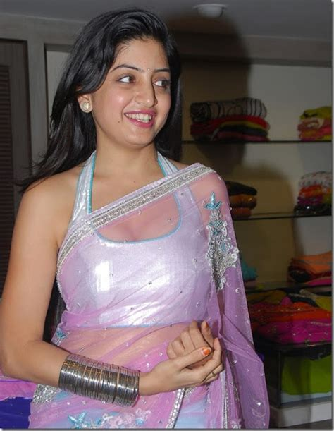 indian poonam kaur transparent saree cleavage navel show at nagavalli telugu