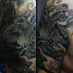 80 Werewolf Tattoo Designs For Men - Full Moon Folklore