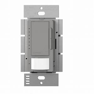 Lutron Maestro C L Dimmer And Vacancy Motion Sensor