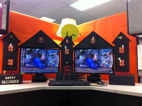 the 25 best halloween cubicle ideas on pinterest