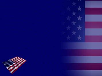 united states  america flag  powerpoint templates