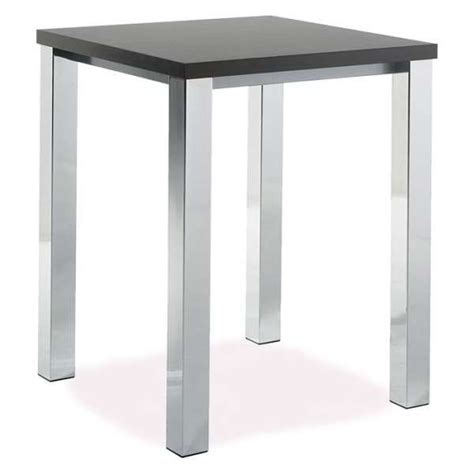 mange debout cuisine table de cuisine carrée mange debout en stratifié quadra