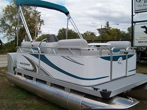 Used Paddle Qwest Boats For Sale by Electric Pontoon Boats Images
