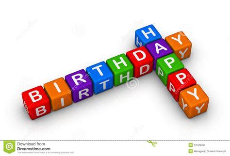 happy birthday sign stock illustration illustration
