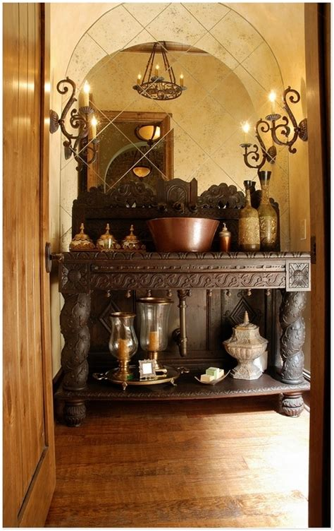 tuscan bathroom ideas  pinterest tuscan