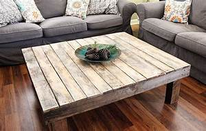 rustic reclaimed wood large square coffee table by With large square reclaimed wood coffee table